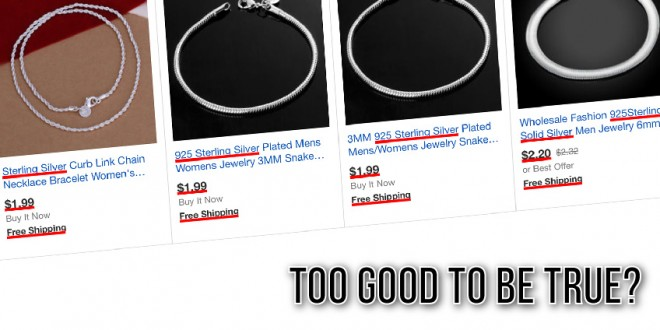 How Much Does Sterling Silver Jewelry Worth