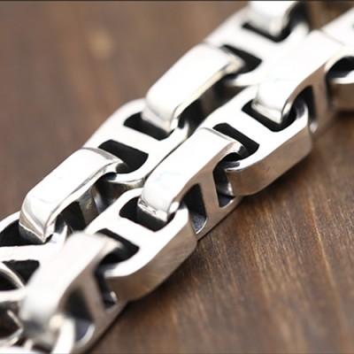 Men's Sterling Silver Mariner Chain Bracelet