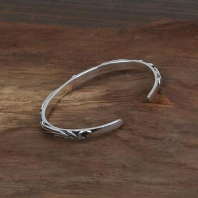 Sterling Silver Ivy Cuff Bracelet