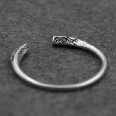 Fine Silver Handmade Cuff Bracelet