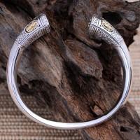 Women's Sterling Silver Virgin Mary Bracelet