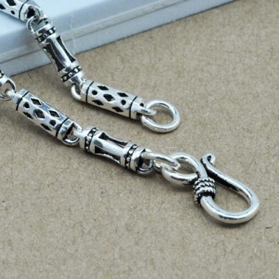 "4 mm Men's Sterling Silver Tube Chain 18""-24"""