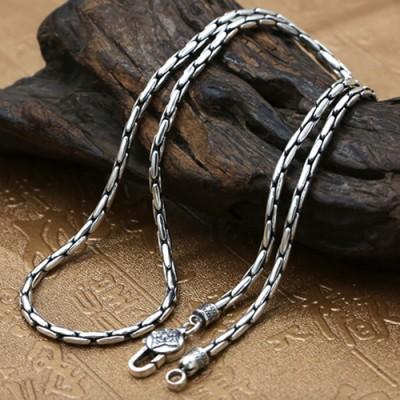 3 mm Men's Sterling Silver Coreanna Chain