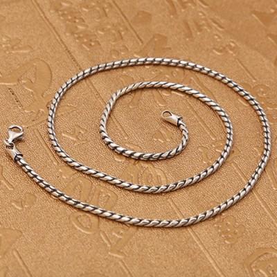 "2 mm Men's Sterling Silver Snake Chain 18""-30"""
