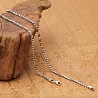 "2 mm Men's Sterling Silver Snake Chain 18""-30"""