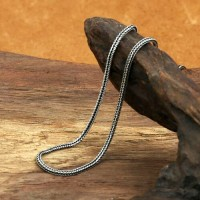 """2 mm Sterling Silver Wheat Chain 18""""-30"""""""