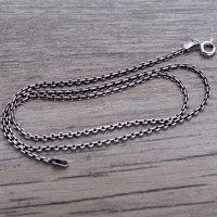 "Sterling Silver Cable Chain 18""-24"""