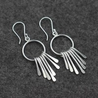 Women's Sterling Silver Thailand Earrings