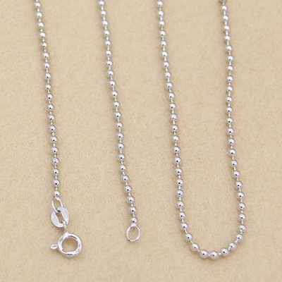 "Sterling Silver Six Word Proverbs Bell Pendant Necklace with Sterling Silver Bead Chain 18""-28"""