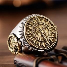 Men's Sterling Silver Apollo Wrap Ring