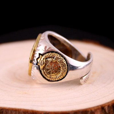 Men's Sterling Silver Apollo Wrap Ring