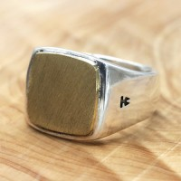 Men's Sterling Silver Signet Ring