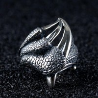 Men's Sterling Silver Eagle Talon Ring