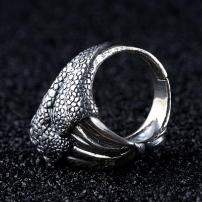 Men's Sterling Silver Eagle Talon Ring