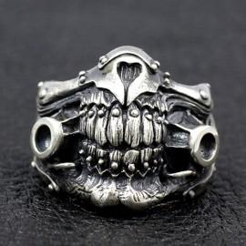 Men's Sterling Silver Immortan Joe Mask Ring