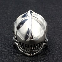 Men's Sterling Silver Predator Ring