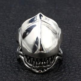 Men's Sterling Silver Predator Ring