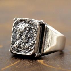 Men's Sterling Silver Bruce Lee Signet Ring