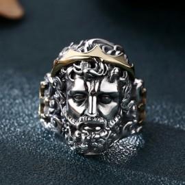 Men's Sterling Silver Zeus Ring