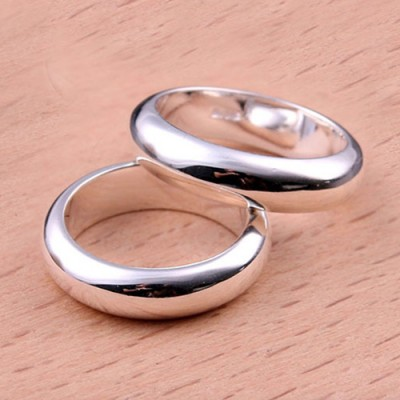 Sterling Silver Plain Band Ring