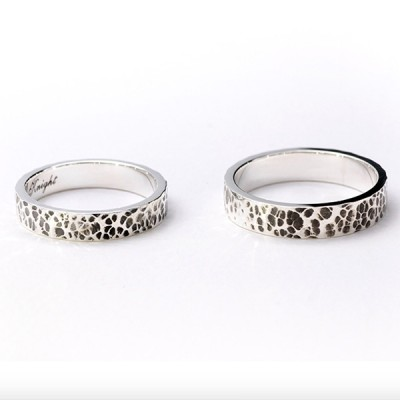 Sterling Silver Personalized Lover's Ring
