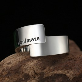 Sterling Silver Soulmate Pinky Ring