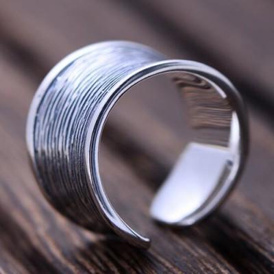 Women's Sterling Silver Streak Wrap Ring