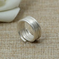 Women's Sterling Silver Wrap Ring