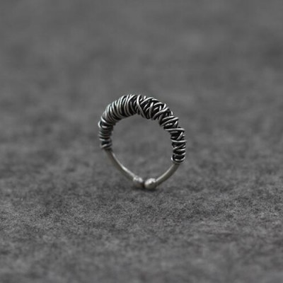 Women's Sterling Silver Wrapping Ring