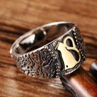 Women's Sterling Silver Cat Ring
